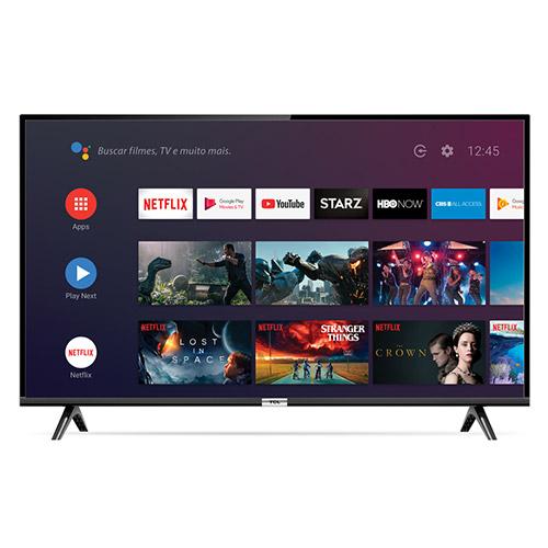 Smart Tv Led 43 Tcl 43s6500 Bluetooth, Controle Remoto Com Comando De Voz E Google Assistant