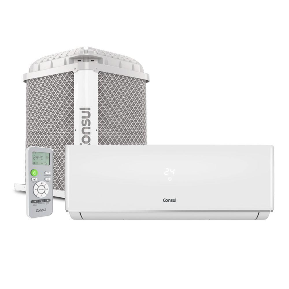 Ar Condicionado Split Consul CBN09CBBNA 9000 BTU s Frio Maxi Refrigeração e Maxi Economia Branco 220V
