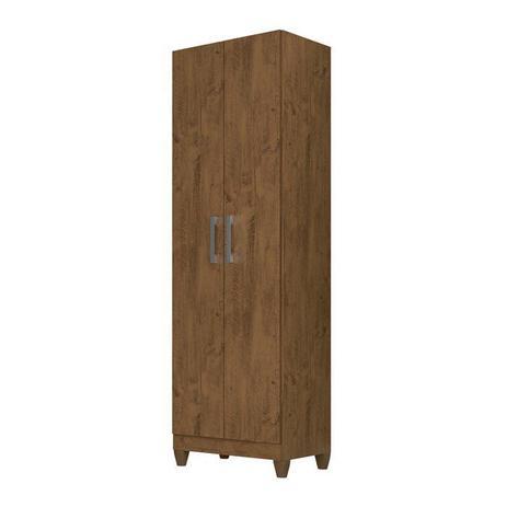 Armário Multiuso Moval 2 Portas New Iris Castanho Wood