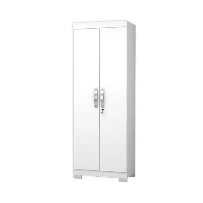 Armário Multiuso Utile Josan 2 portas Branco