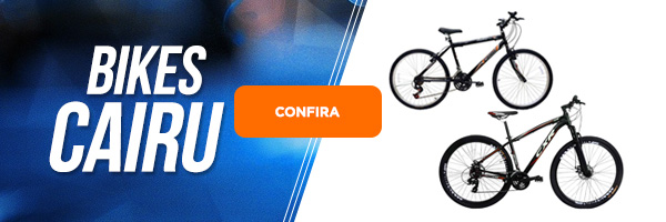 Bicicleta Cairu aro 26, aro 20, aro 16, aro 24 com marcha