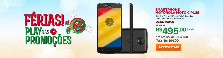 Smartphone Motorola Moto C Plus Dual Chip