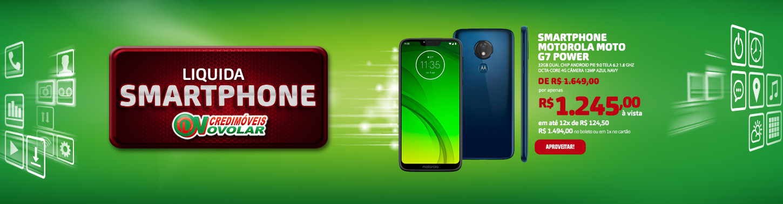 Smartphone Motorola Moto G7 Power 32GB Dual Chip Android Pie 9.0 Tela 6.2 1.8 GHz Octa-Core 4G Câmera 12MP Azul Navy