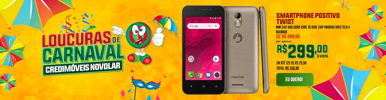 Smartphone Positivo Twist Mini S431 8GB