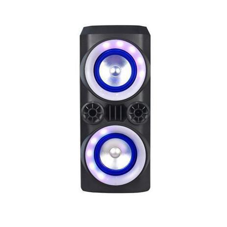 Caixa de Som Multilaser Mini Torre Neon X 300W Bluetooth SP379