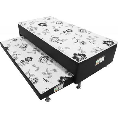 Cama Box Conjugado Nero vaz com Cama Auxiliar 37X188X88 - Ortobom