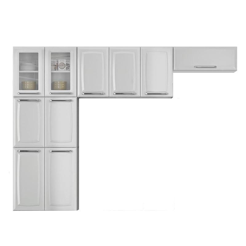 Cozinha Compacta Itatiaia Luce 3 Peças IPH-70+IP3-105+IPDLV-70 MX Branca