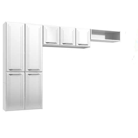 Cozinha de Aço Telasul Topázio Smart 3 Peças Branco
