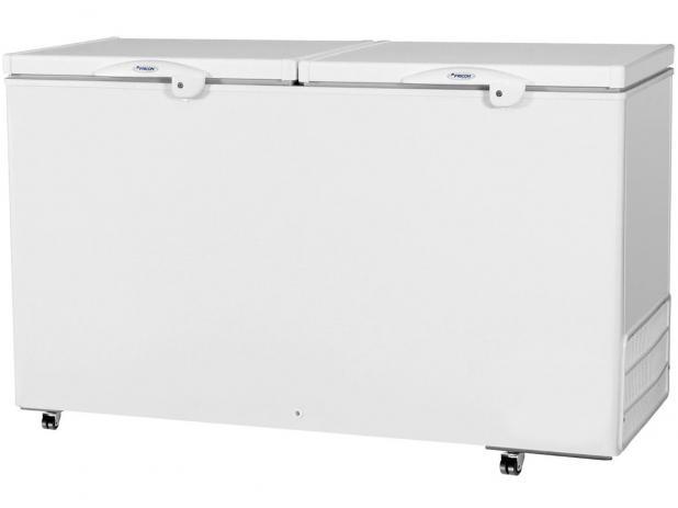 Freezer Horizontal Fricon Dupla Ação 503 Litros Branco HCED503