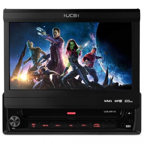DVD Player UCB DR170 7 Polegadas USB/DVD/MP3
