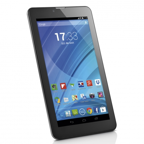 Tablet Multilaser M7 3g Quad Core Preto Nb223