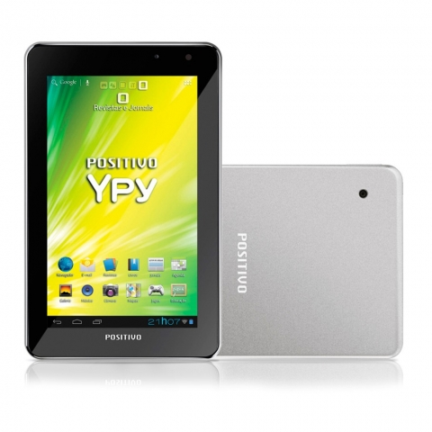 Tablet Positivo 3G Ypy 07ftb 16GB Android - Câmera 2mp Tela 7 Polegadas Wi-fi Bluetooth