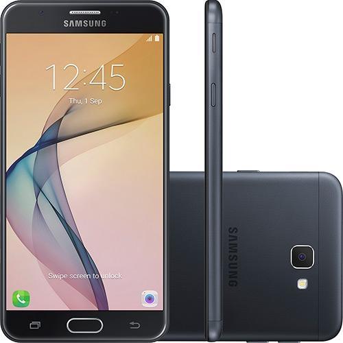 Smartphone Samsung Galaxy J7 Prime Dual Chip Android Tela 5.5 32GB 4G Câmera 13MP Preto
