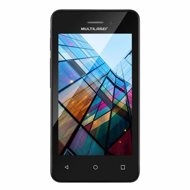 Smartphone Multilaser Ms40s Quad Core 1.2 Ghz Preto