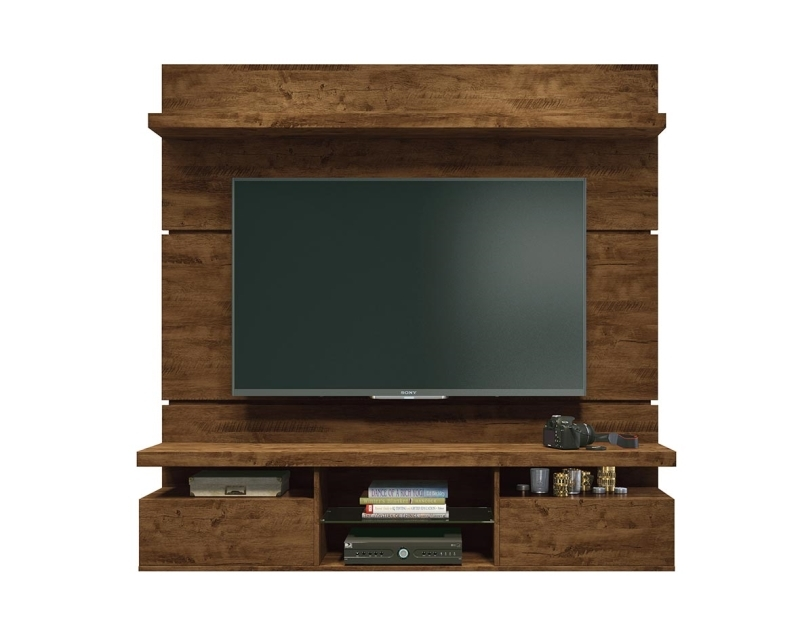 Estante Home Suspenso Livin 1.6 para Tv de até 55 polegadas Canyon - Hb Móveis