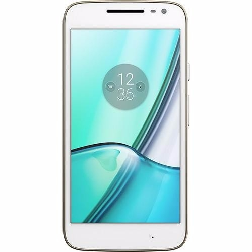 Smartphone Moto G 4 Play DTV Colors Dual Chip Android 6.0 Tela 5 16GB Câmera 8MP - Branco