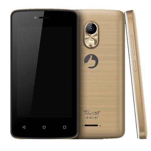 Smartphone Positivo Twist Mini S430 Gold com Dual Chip, Tela 4, Android 6.0, Câmera 8MP, 3G, Wi-Fi, Bluetooth e Processador Dual-Core de 1.3 Ghz