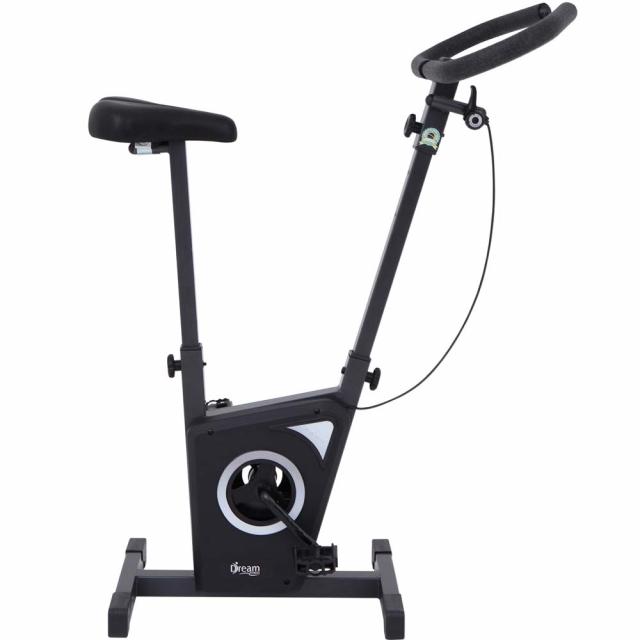 Bicicleta Ergométrica Mecânica Dream EX 450  Chumbo/Preta