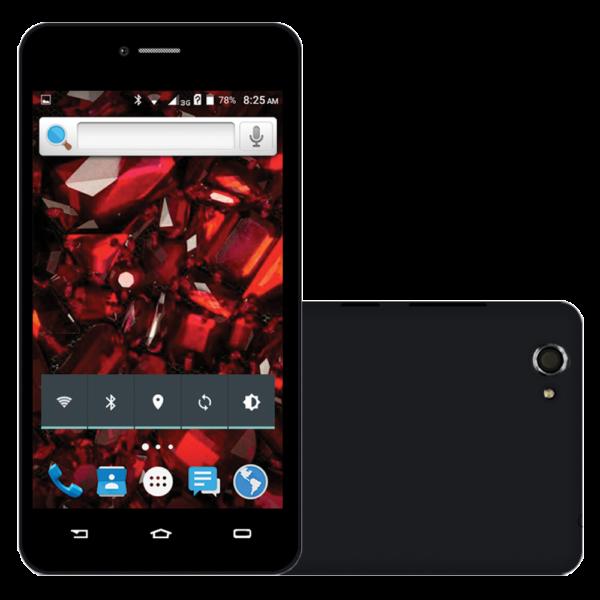Celular Smartphone Rockcel Opalus Preto Tela 5 3G Câmera Frontal Dual Chip Android 5.1 + Óculos  Chilli Beans