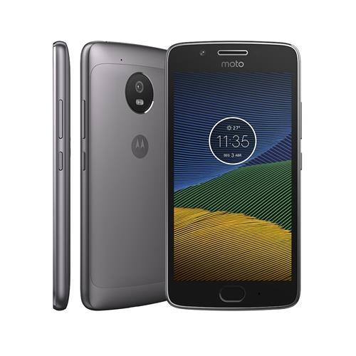 Smartphone Motorola Moto G5 XT1672 Platinum com 32GB, Tela de 5, Dual Chip, Android 7.0, 4G, Câmera 13MP, Processador Octa-Core e 2GB de RAM
