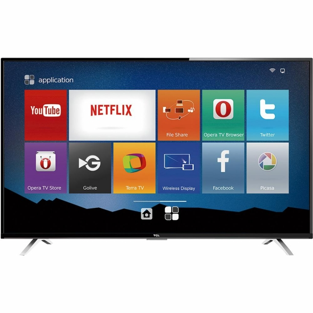 Smart TV LED 32 SEMP TCL HD com Conversor Digital HDMI USB 60Hz - Preta