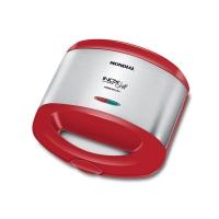Grill e Sanduicheira Premium S19 800w Vermelho/Inox Mondial 220V