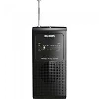 Radio Portatil Com Alto-Falante Interno Am/Fm Ae1500x/78 Preto Philips