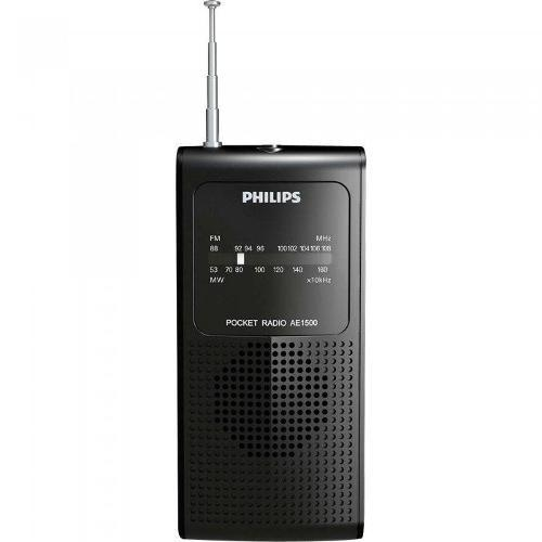 Radio Portatil Com Alto-Falante Interno Am/Fm Ae1500x/78 Preto Philips