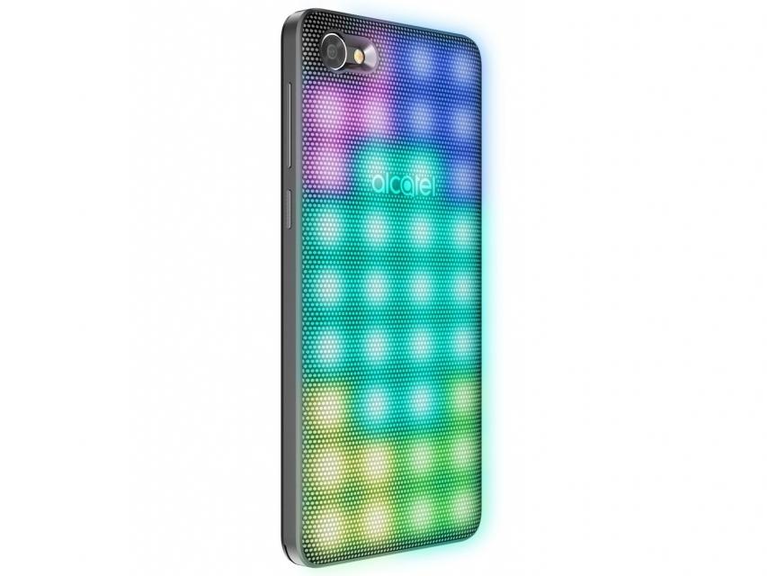 Smartphone Alcatel A5 16GB Prata Dual Chip 4G - Câm. 16MP + Selfie 8MP Tela 5.2 Proc. Octa Core