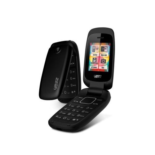 Celular Yezz C50 Dual Chip Flip 1.8 RádioFM Bluetooth Preto