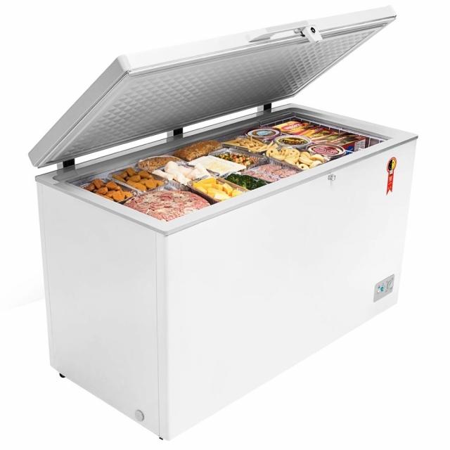 Freezer Horizontal Midea 415L Branco  RCFA4  Branco 220 V