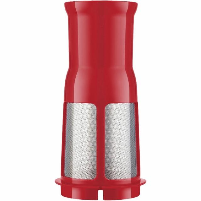 Liquidificador Mondial Eletronic Filter L-74 1,6L 6 velocidades com Filtro Inox e Vermelho - 700W