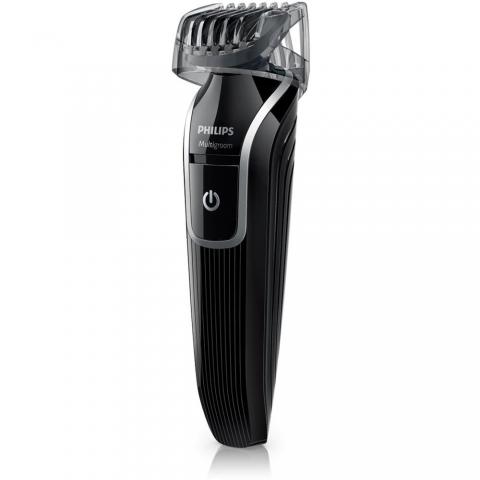 Aparador de Pelos Philips MultiGroom QG3329 à Prova D'Água - Corte, Raspe, Apare e Desenhe na Barba