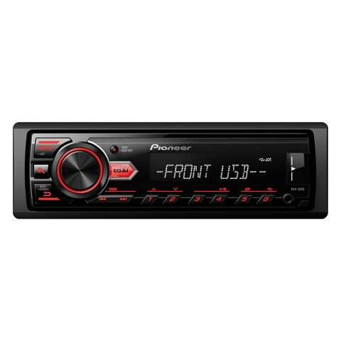 Auto Rádio MP3/USB/AM/FM MVH088UB Pioneer