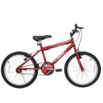 Bicicleta Aro 20 Cairu Super Boy Masculina Vermelho