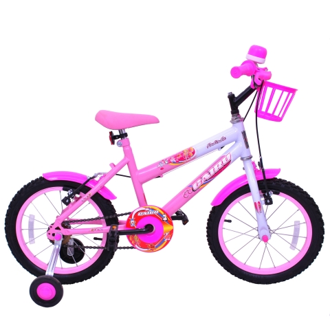 Bicicleta Infantil Aro 16 Cairu Fadinha Feminina Personal Rosa
