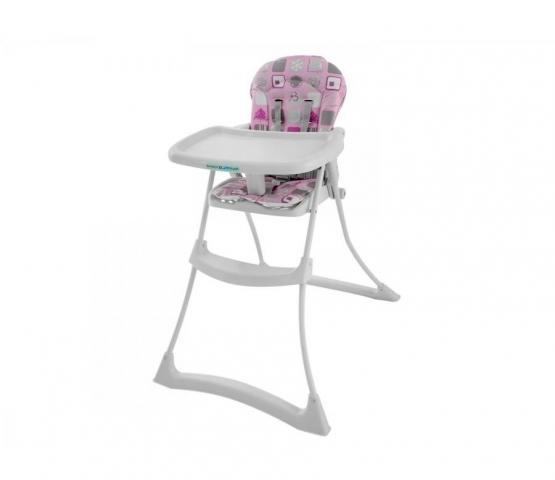 Cadeira para Refeição Burigotto Bon Appetit XL IXCR3045 Patchwork Rosa