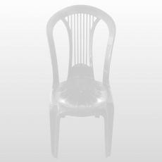 Cadeira Plagon Bistro Calheta Branca