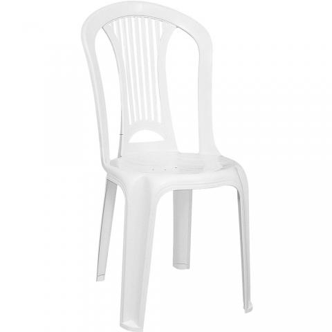 Cadeira Tramontina Atlântida PVC Branca