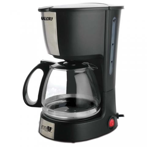 Cafeteira Mallory Aroma 16 Jarra em Vidro, Capacidade para 16 Cafezinhos 550W  Preta 220V