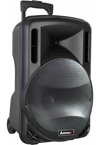 Caixa Amplificada Amvox ACA280  280W Preta
