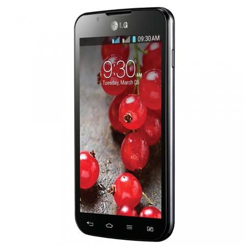 Celular LG Optimus L7 II Dual P716 Tim Desbloqueado Preto com Dual Chip, Tela de 4.3, Android 4.1, Câm. 8MP, 3G, Wi-Fi, GPS, Bluetooth e Cartão 4GB