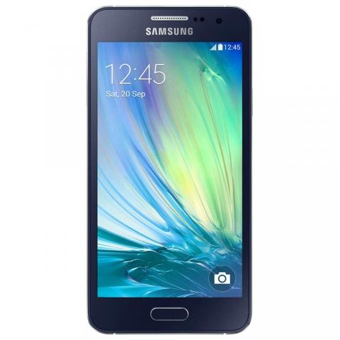 Celular Smartphone Samsung Galaxy A3 4G Duos A300M Preto com Dual Chip, Tela 4.5