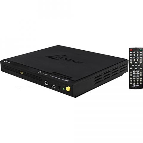 DVD Player Lenoxx DV445 com MP3 Player Função Karaokê e Entrada USB