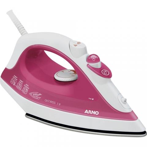 Ferro a Vapor Arno Acess FA19 - Rosa