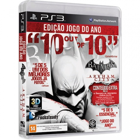 Game Batman Arkham City Goty Edition PS3