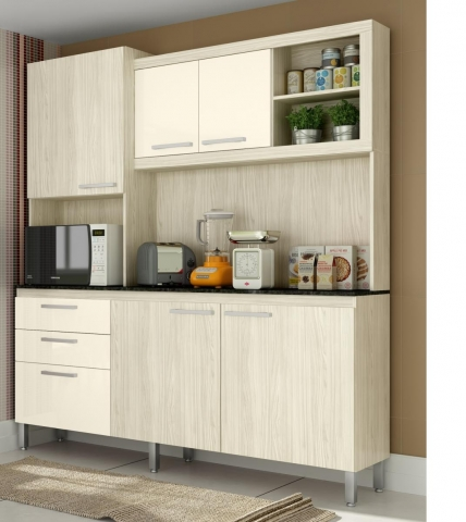 Kit Cozinha Gralar Utile 207 Naturale