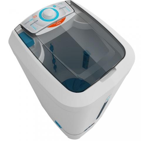Lavadora de Roupas Newmaq 10 kg New Up! Semiautomática branca