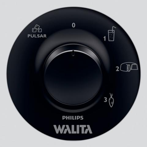 Liquidificador Philips Walita Daily 1,5 Litros, 3 Velocidades, Preto, 550W