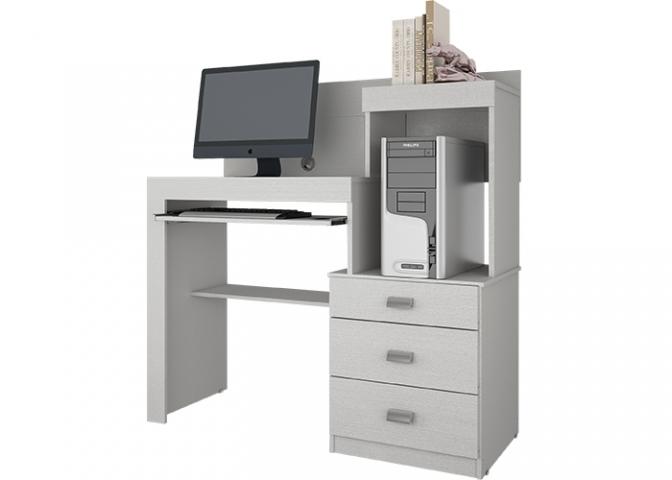 Mesa de Computador Permobili Íris Cristal